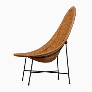 Stora Kraal Easy Chair by Kerstin Hörlin-Holmquist for Nordiska Kompaniet, 1950s