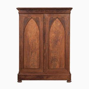 Antique Dutch Biedermeier or Poortkast Cabinet
