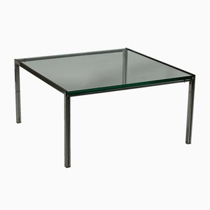 Steel Glass Coffee Table by Ross Littell for ICF de Padova, 1960s