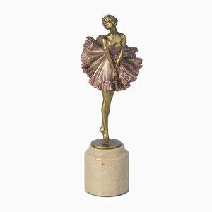 Antike Bronzefigur von Paul Philippe, 1910
