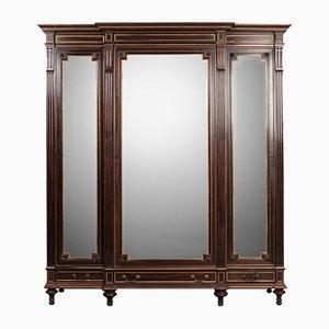 Armoire Miroir 3 Portes Antique, France