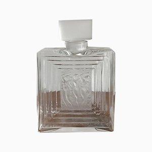 Französische Parfümflasche aus Kristallglas von Lalique, 1970er