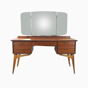 Toeletta vintage con specchio di Alfred Cox per AC Furniture