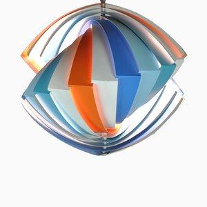 Konkylie Deckenlampe von Louis Weisdorf für Lyfa, 1963
