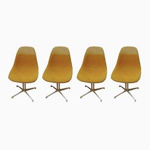 Sillas de Charles & Ray Eames para Hermann Miller, años 60. Juego de 4