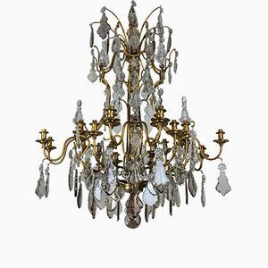 Large Chandelier from Baccarat, 1950s