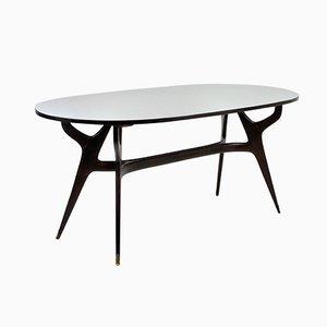 Table de Salle à Manger Sculpturale Mid-Century par Ico & Luisa Parisi, Italie