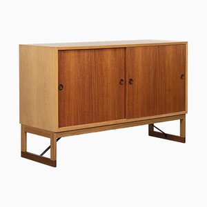Teak and Oak Cabinet by Børge Mogensen for Karl Andersson & Sons, 1960s