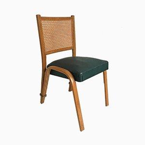 Chaise Bow Wood Vintage par Wilhem von Bode pour Steiner, 1950s