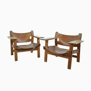 Spanish Chairs by Børge Mogensen for Fredericia, 1960s, Set of 2
