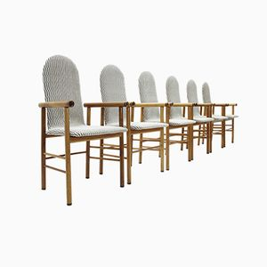Mid-Century Italian Dining Chairs, 1970s, Set of 6