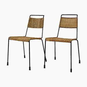 Stacking Chairs by Paul Schneider-Esleben for Wilde and Spieth, 1952, Set of 2