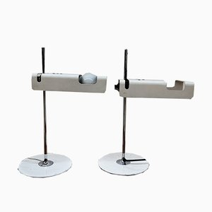 Mid-Century Spider Table Lamps by Joe Colombo for Oluce, Set of 2