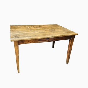 Vintage Wooden Farmhouse Table