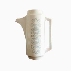 Vintage Limoges Kaffeekanne aus Porzellan von Jammet Seignolles
