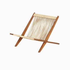 Easy Chair by Jørgen Høj and Poul Kjærholm for Thorald Madsen, 1960s