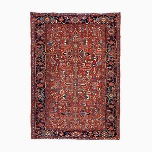Antiker handgeknüpfter Teppich, 1900er