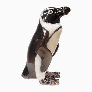Vintage Pinguin aus Keramik von Sveistrup Madsen für Bing & Grondahl
