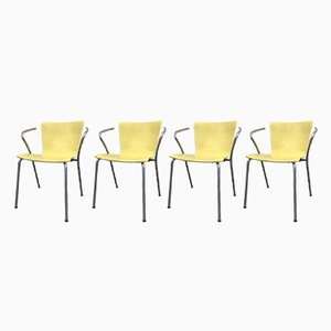 VM101 Stacking Chairs by Vico Magistretti for Fritz Hansen, 2000, Set of 4