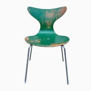 Sedia 3108 The Lily Seagull di Arne Jacobsen per Fritz Hansen, 1971