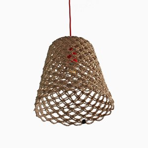 Rope Net Pendant Lamp by Com Raiz