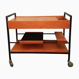 Mid-Century Paris Serving Trolley by Pierre Guariche for Meurop