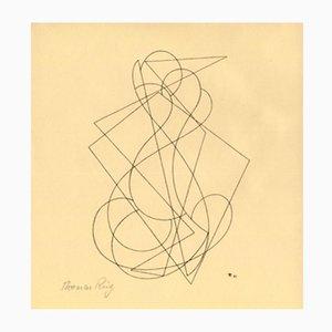 Holzschnitt von Thomas Ring für Panderma, 1921