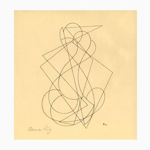 Xilografía de Thomas Ring para Panderma, 1921