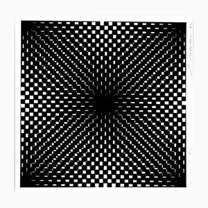 Kinetic Light Power Stage II Siebdruck von Jürgen Rohrberg für Panderma, 1966