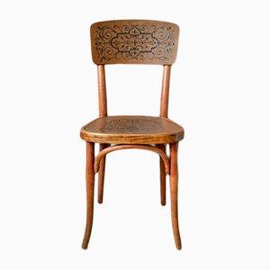 Sedia in legno curvato di Thonet, anni '20