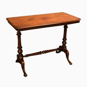 19th-Century Victorian Mahogany Side Table