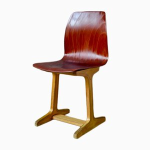 Silla de Adam Stegner para Pagholz Flöttoto, años 60