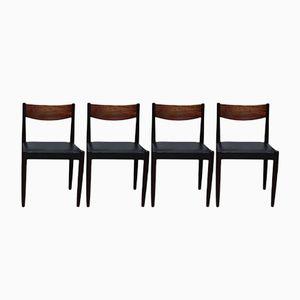 Esszimmerstühle aus Palisander von Poul M. Volther für Frem Røjle, 1960er, 4er Set
