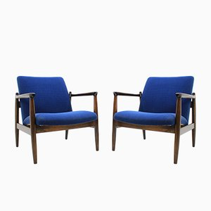 Mid-Century Armchairs by Edmund Homa, 1963, Set of 2