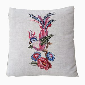 Bird of Paradise 3 Pillow by Com Raiz, 2018