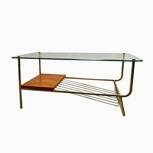 French Coffee Table, 1950s