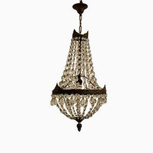 Vintage Imperial Crystal Chandelier