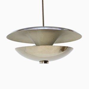 Lámpara colgante Bauhaus vintage de Napako, años 40