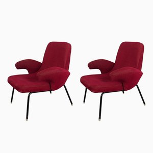 Armchairs by Alan Fuchs, 1959, Set of 2