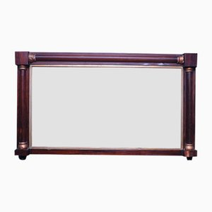 Antique Rosewood and Gilt Empire Mirror, 1890s