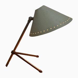 Pinocchio Tisch- oder Wandlampe von H. Busquet für Hala, 1950er