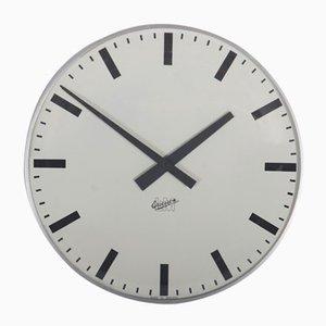 Grande Horloge Murale Mid-Century par LM Ericsson