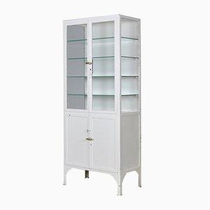 Vintage Iron Medical Cabinet, 1935