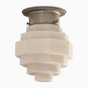 Funktionalistische skandinavische Deckenlampe, 1950er