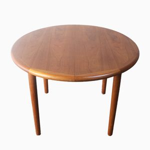 Mid-Century Danish Extendable Dining Table, 1970s