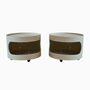 Vintage Side Tables from Opal Möbel, 1970s, Set of 2
