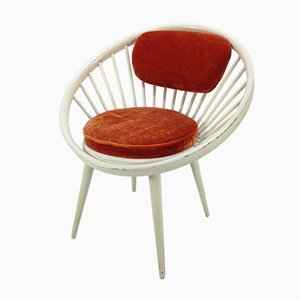 Vintage Circle Chair by Yngve Ekström for Swedese, 1960s