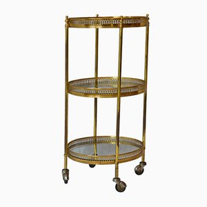 Vintage French Bar Cart, 1950s