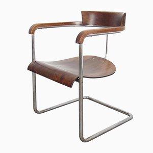 Vintage H-128 Stuhl von Jindřich Halabala für UP Závody