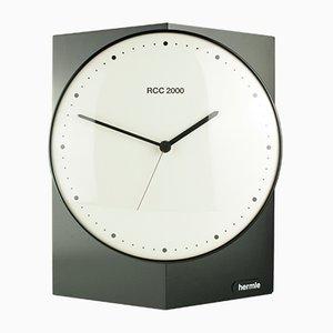 Horloge Radio RCC 2000 à Cadran Pivotant Vintage de Hermle, 1980s
